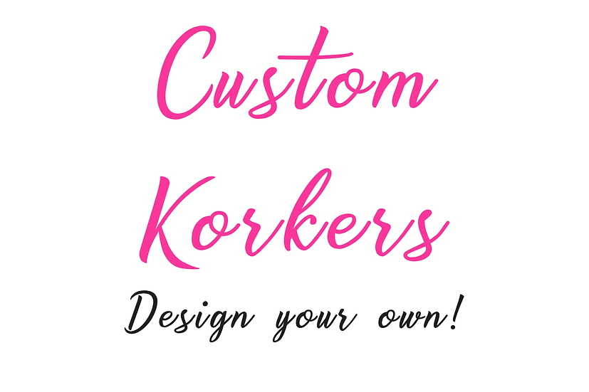 Custom Petite Korker Hair Bows - set of 2 bows