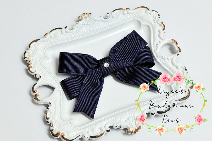 "Small Tails Down Hair Bows - 3"" bows"