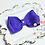 "Thumbnail: Petite Medium Pinwheel Hair Bows - 3.5"" bows"