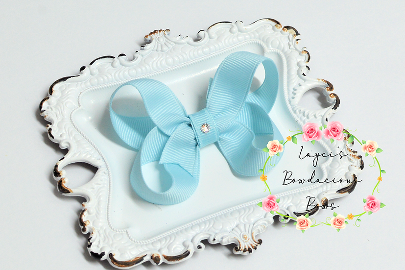 "Petite Small Boutique Hair Bows - 2.75"" bows"