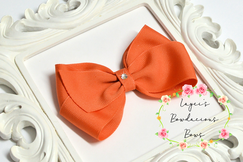 "Petite Large Classic Hair Bows - 4.5"" bows"