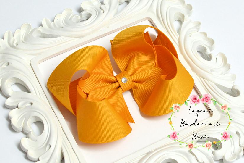 """Large Boutique Hair Bows - 4.5"""" bows"""