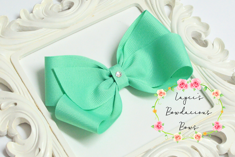 """Large Classic Hair Bows - 5"""" bows"""