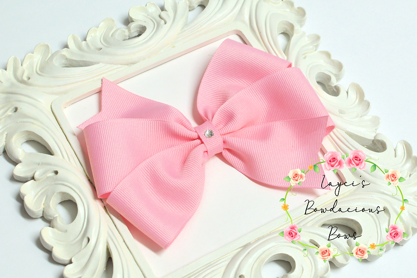 "Large Pinwheel Hair Bows - 5"" bows"