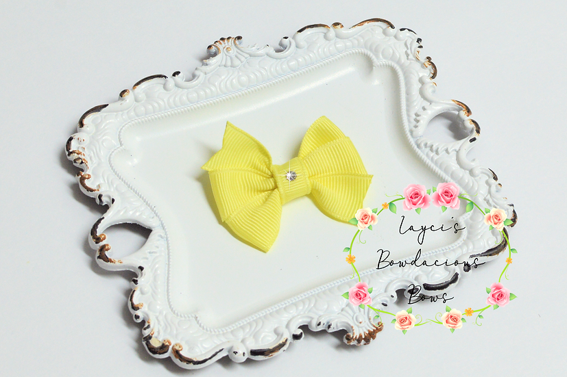"Mini Pinwheel Hair Bows - 2"" bows"