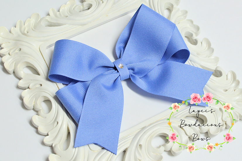 "Extra Large Tails Down Hair Bows - 5.5"" bows"
