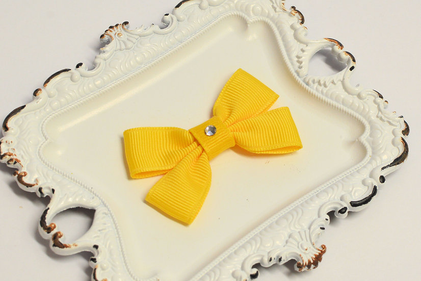 Small Double Bow Tie Hair Bow