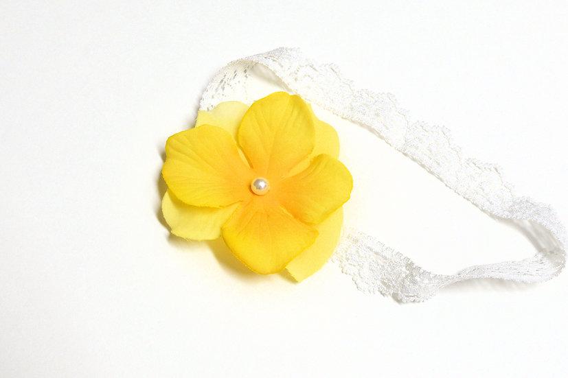 Small Yellow Headband - Ready to Ship - rts1