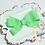 """Thumbnail: Small Pinwheel Hair Bows - 3"""" bows"""