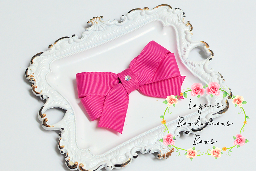 """Petite Small Tails Down Hair Bows - 2.75"""" bows"""