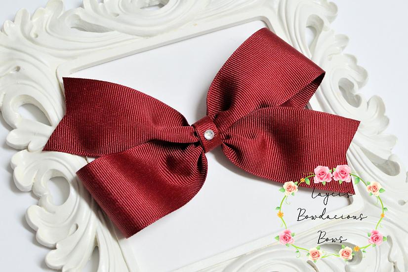 "Extra Large Demi Pinwheel Hair Bows - 5.5"" bows"