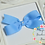 "Thumbnail: Medium Demi Pinwheel Hair Bows - 4"" bows"