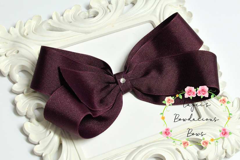 "Super Large Classic Hair Bows - 7"" bows"