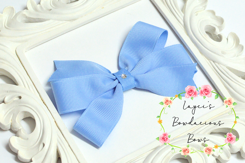 "Medium Pinwheel Hair Bows - 4"" bows"