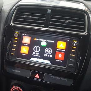 עדכון מערכת המולטימדיה ברכבי מיצובישי