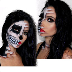 2 skull 💀 look was a revamp of my first