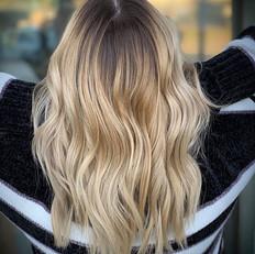 gloss refresh between blonding services