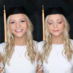 Graduation 👩🏼🎓🎓 glam and some soft waves 🌊 on _kjbabin !!! 🤩 using _ashleysievertbeauty foundation per usual 😍.jpg