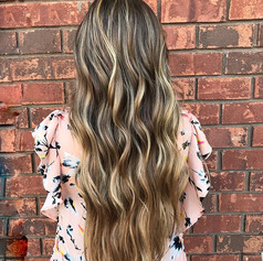 Pinterest worthy_ Y'all I'm obsessed with this color correction! Did a combination of freehand painting with _lorealpro and foilayage in the