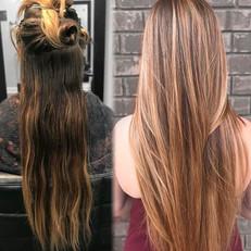 Blondie transformation!!! Came through w
