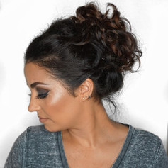 One of my fav updos I've done on my sister! Just loving how it shows off that balayage...jpg