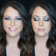 That glitter glam smokey eye 😻😻 _dawnmarieclark