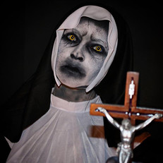 """Day 1 of 31 _ """"The Nun"""" .... Obviously t"""