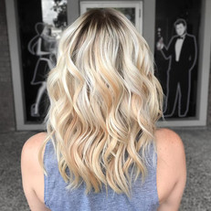 Transitioning blondes to a lower mainten