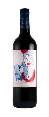 Etiqueta de vino 'la flamenca aventurera' y 'mi torito bravo'