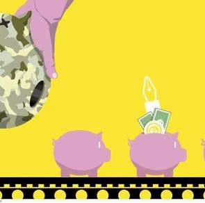 El reparto del gasto militar hacia otras partidas