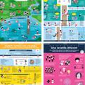 Carteles / infografías para la Campaña con las medidasde seguridad ante la Covid-19 para Protecció Civil