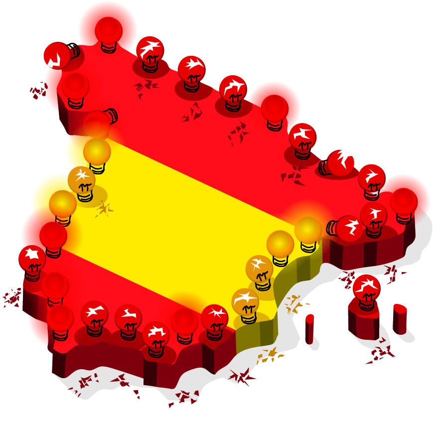 El suspenso de España según el informe Greco