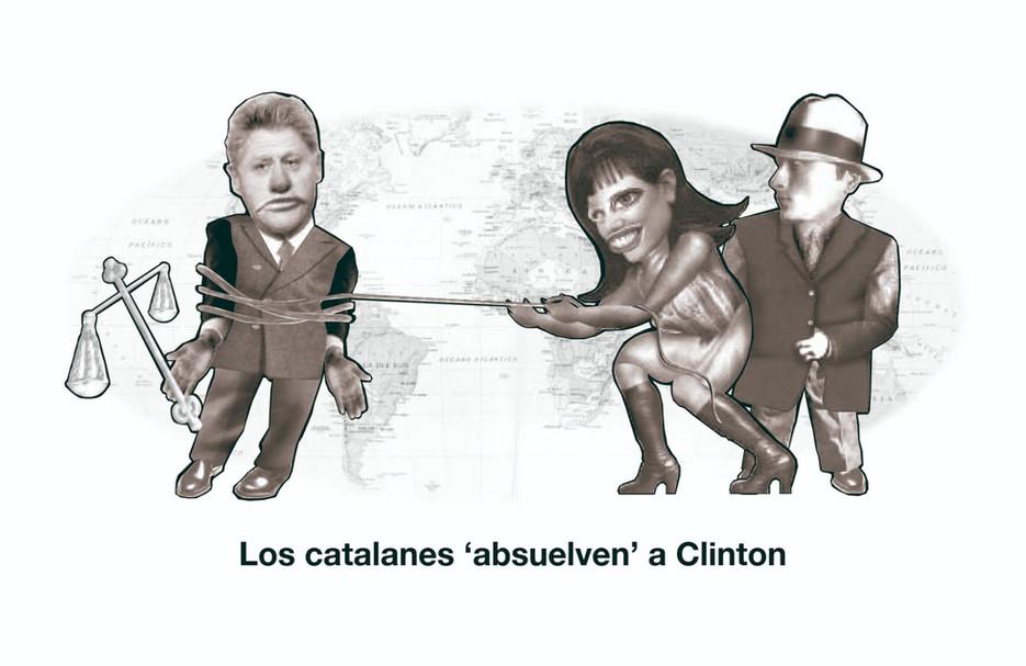 Absuelven a Clinton