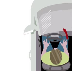 ¿Cómo abrir las puertas de los vehículos para garantizar la seguridad de los ciclistas?
