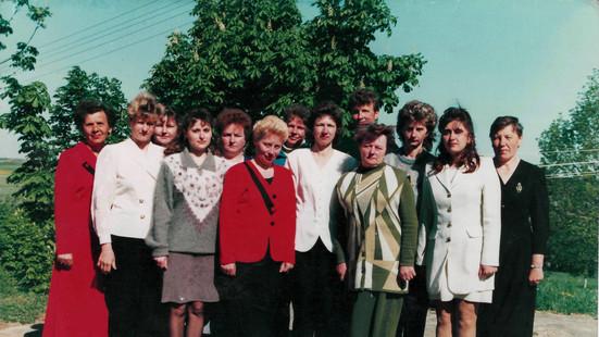 Калектыў настаўнікаў Крамяніцкай СШ 2000