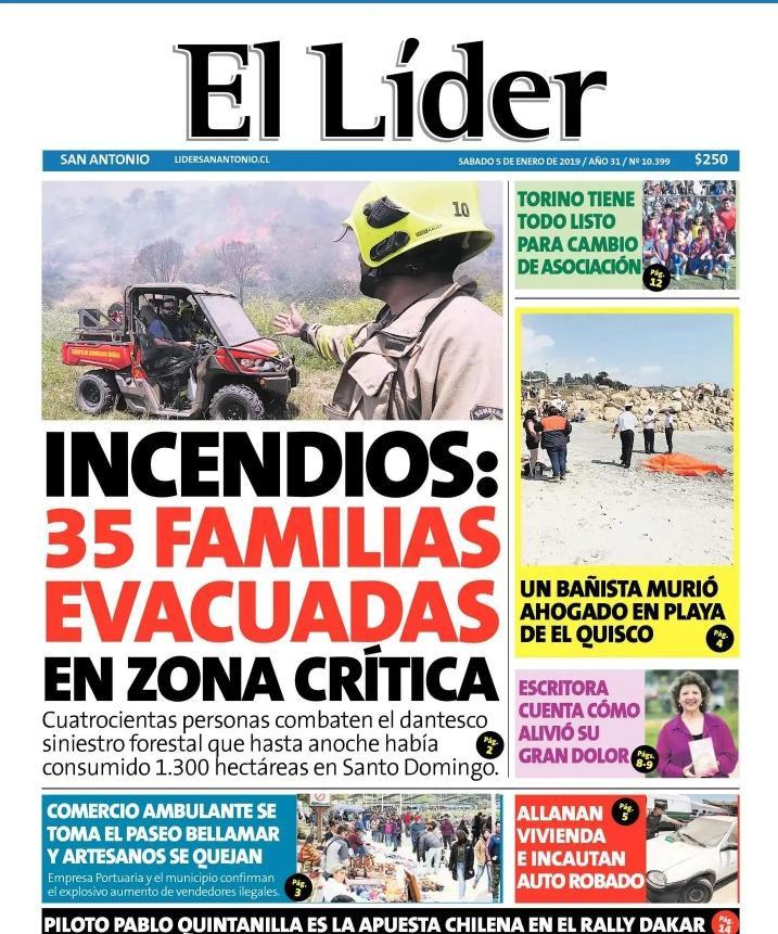 PORTADA EL LIDER