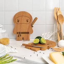 Ninja cutting board and knife