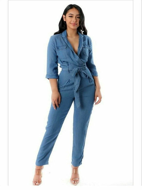 EW Denim Jumpsuit