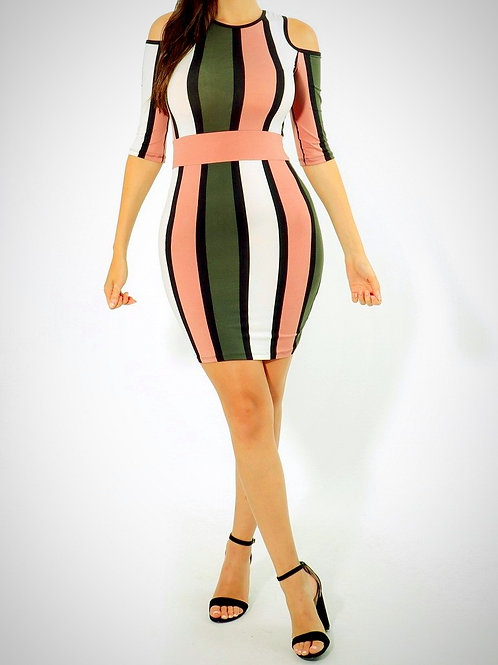 Lady D Stripe dress