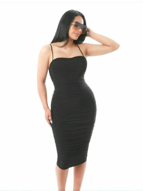 Get at Me Black Dress