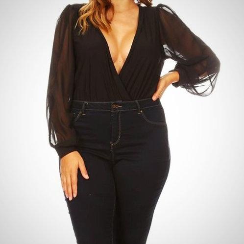 Black Bodysuit Curvy