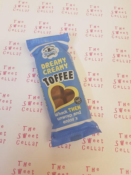 Dreamy creamy toffee