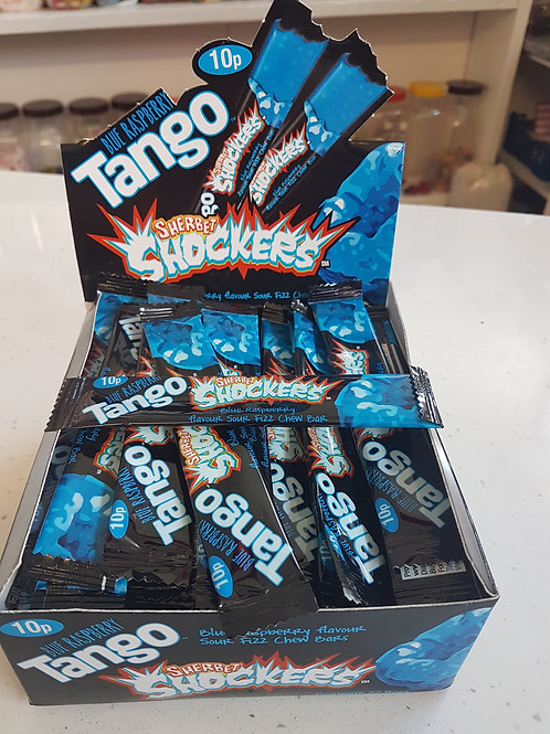 Tango Blue Raspberry shocker