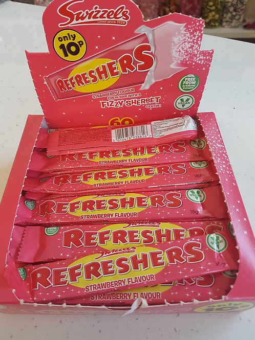 Refreshers Strawberry Chew bar