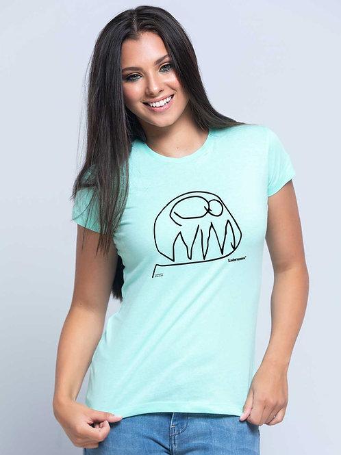 Camiseta Mujer Básico LUBRUMU