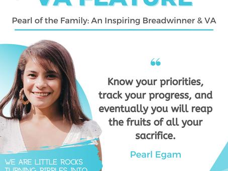 VA FEATURE: PEARL EGAM — Inspiring Breadwinner & Virtual Assistant