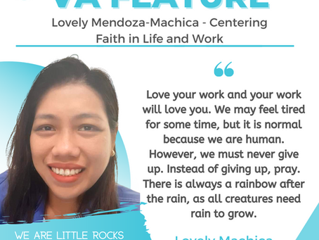 VA FEATURE: Lovely Mendoza-Machica - Centering Faith in Life and Work