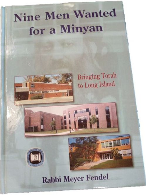 Nine Men Wanted for a Minyan