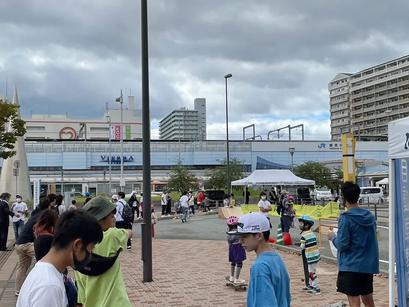 加古川駅でスケートイベント!!