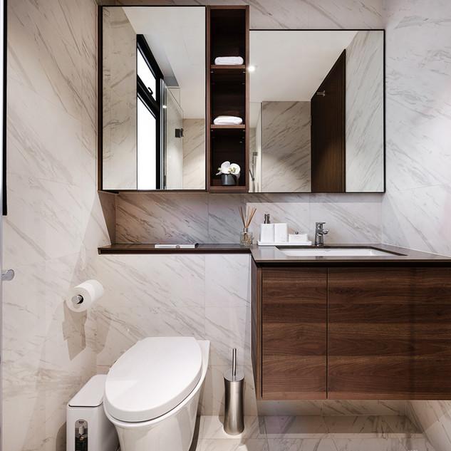 Le Quest I   Master Bathroom